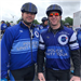 Close up of Officers DeBiasse and Danielson, who rode in the 2019 Police Unity Tour