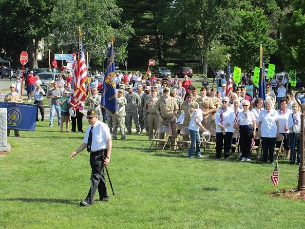 Livingston's annual ceremony commemorating the sacrifices of the men and women who serve our coun