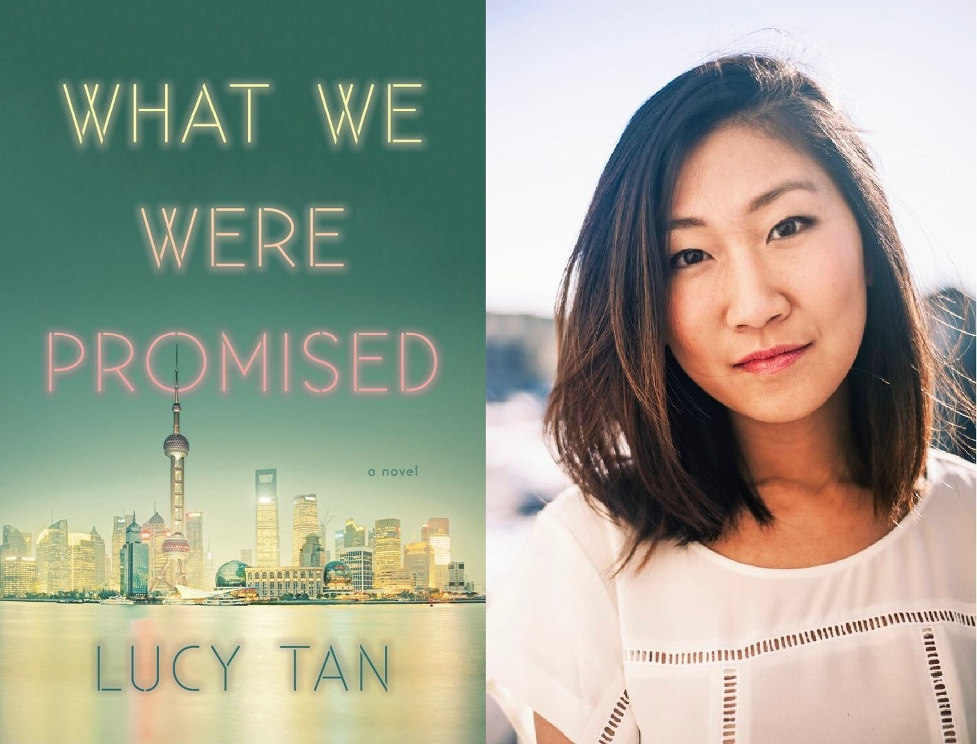 "Meet Lucy Tan, author of ""What We Were Promised,"" at the Livingston Public Library on July 24,"