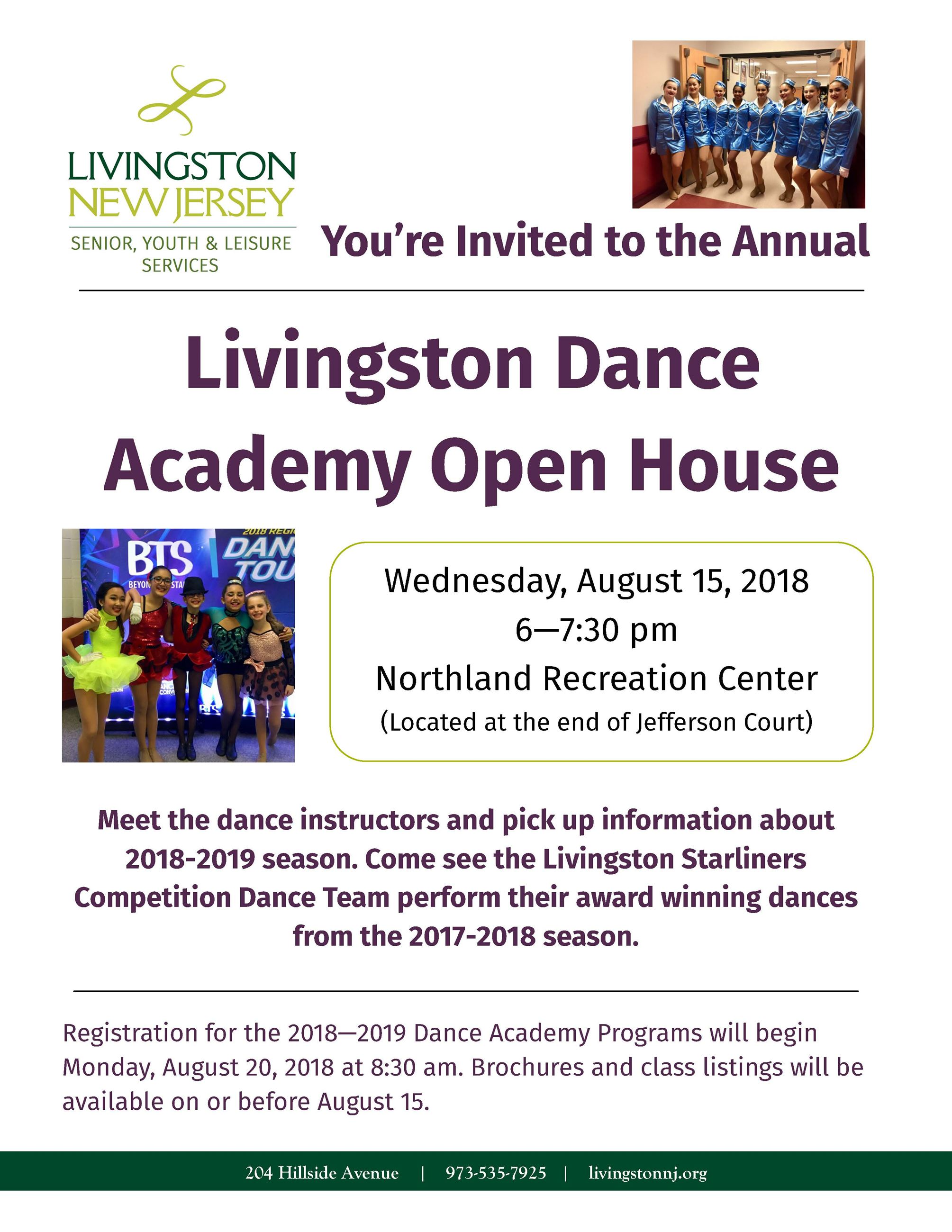 Dance Academy Open House 2018