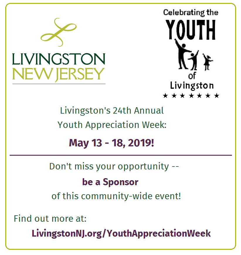 2019 Youth Appreciation Week: Be a Sponsor!