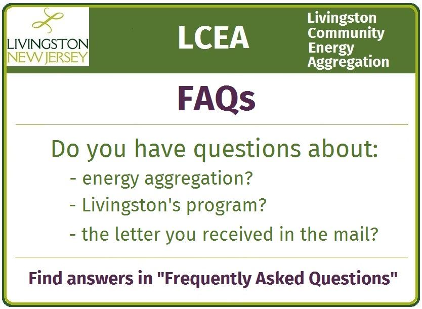 Energy Aggregation Frequently Asked Questions