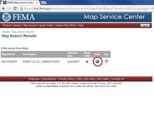 FEMA Flood Maps Service Center