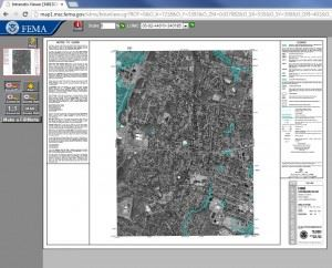 FEMA Flood Maps Service Center Map