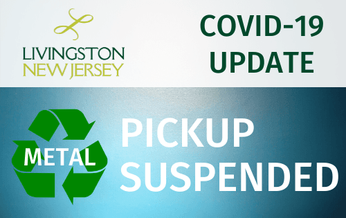 Metal Recycling Program Temporarily Suspended due to COVID-19 Outbreak
