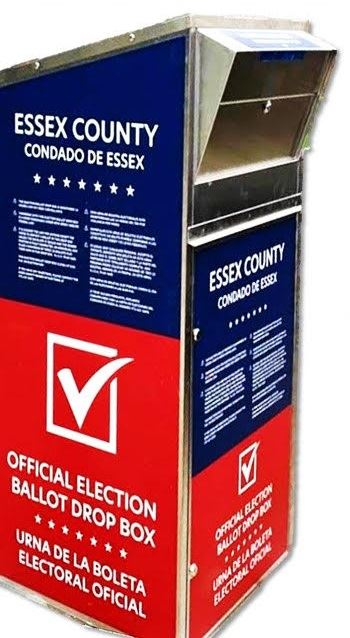 2020 Essex County, NJ, secure ballot drop box