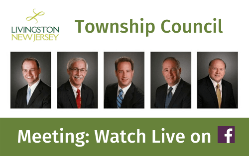 Livingston Township Council Meeting: Watch Live on Facebook. Portraits of 2020 Council Opens in new window
