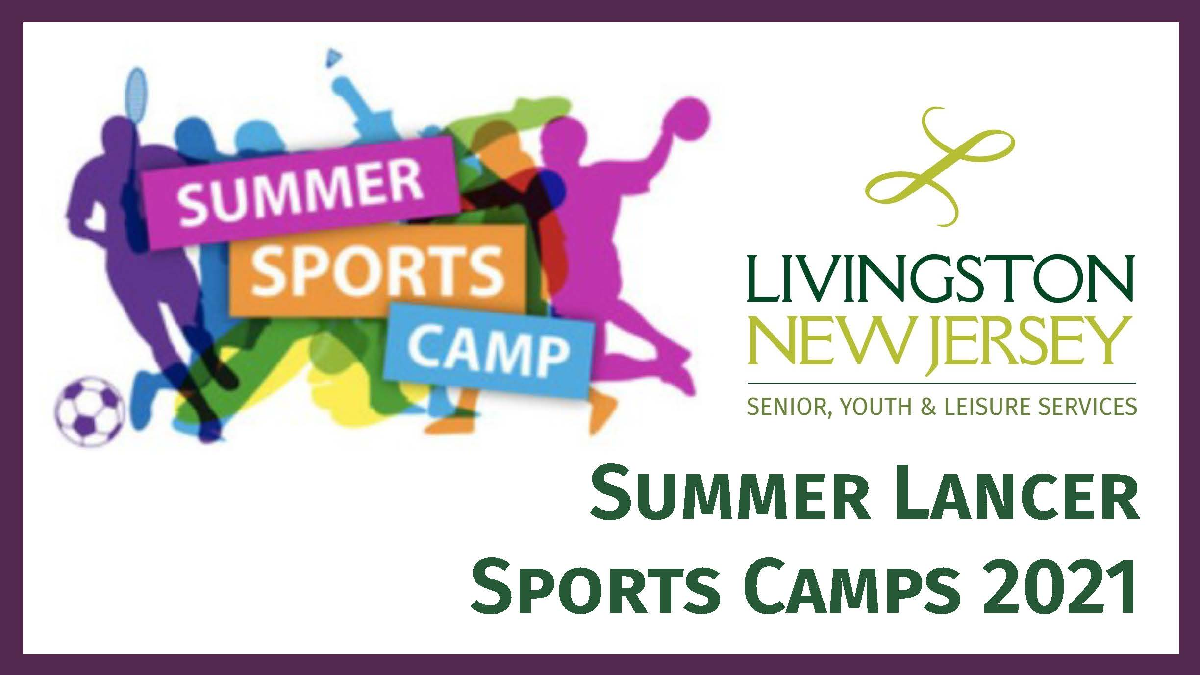 Sports Camps 2021 banner