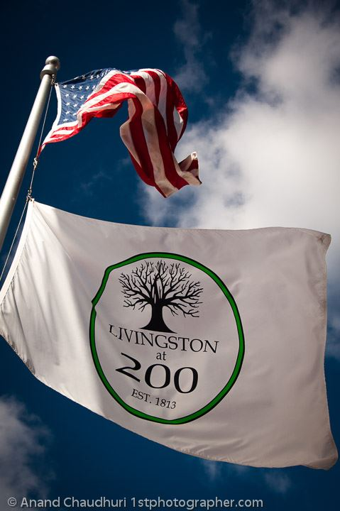 Livingston at 200 Flag